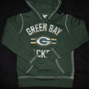 NFL Green Bay Packers Hoodie Small Womens